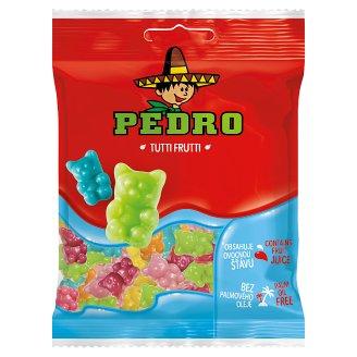 Pedro Tutti Frutti cukrovinky, želé s tutti frutti příchutí 80g