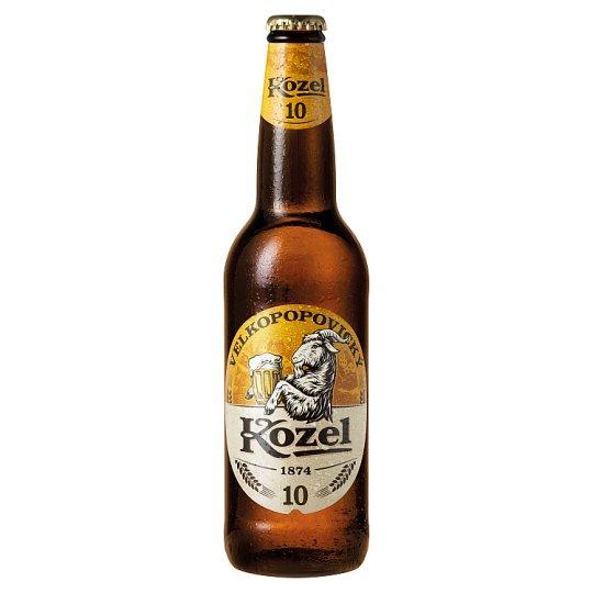 Velkopopovický Kozel Světlé pivo výčepní 0,5l