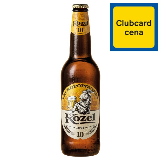 Velkopopovický Kozel Pale Tap Beer 500ml