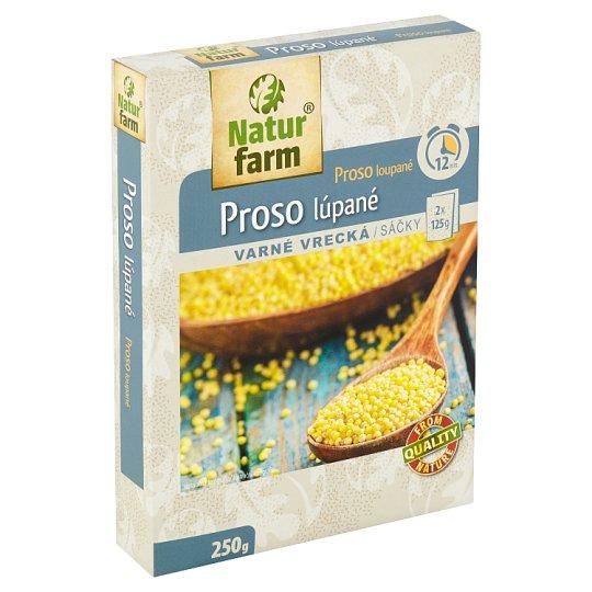 Natur Farm Proso loupané varné sáčky 2 x 125g