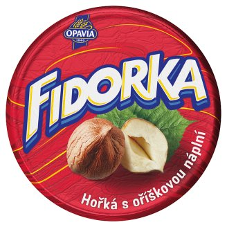 Opavia Fidorka Wafer with Hazelnut Filling Dipped in Dark Chocolate 30g