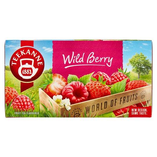 TEEKANNE Wild Berry, World of Fruits, 20 sáčků, 40g