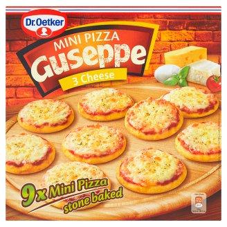 Dr. Oetker Guseppe Stone Baked Mini Cheese Pizza 9 pcs 270g