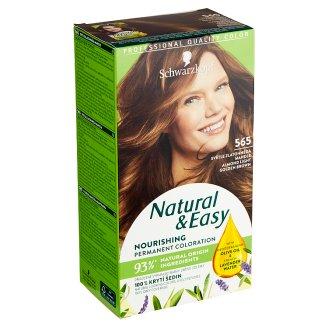 Natural & Easy Barva na vlasy světle zlatohnědá mandle 565