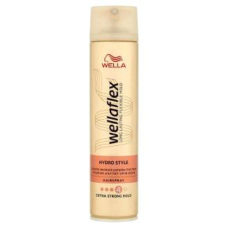 Wella Wellaflex Hydro Style lak na vlasy Extra Strong Hold 250ml