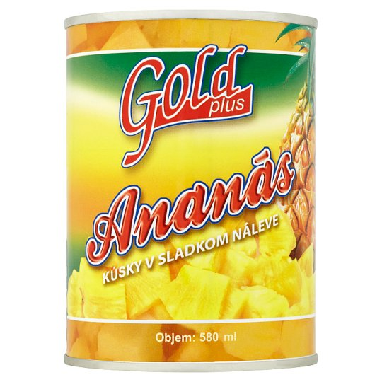Gold Plus Ananas Pieces in Syrup 565g