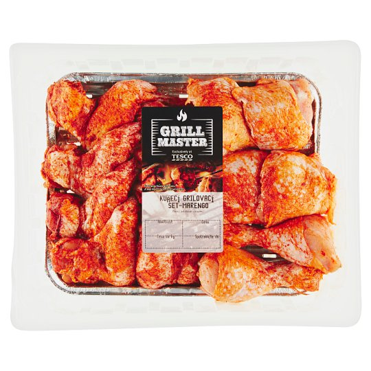 Tesco Grill Chicken Grill Set Marengo