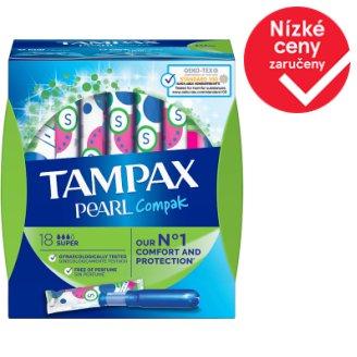 Tampax Compak Pearl Super Tampony SAplikátorem 18ks