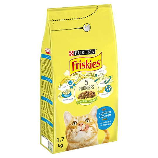 FRISKIES with Salmon and Vegetables 1.7kg