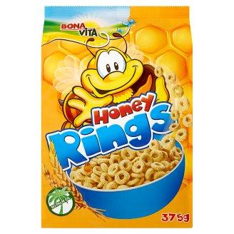 Bona Vita Honey Rings medové cereální kroužky 375g