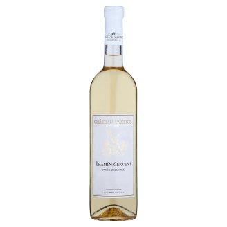 Château Valtice Tramín červený výběr z hroznů víno s přívlastkem polosuché 0,75l
