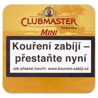 Clubmaster Mini Sumatra doutníčky 20 ks