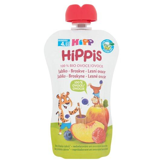 HiPP HiPPis Bio 100% ovoce jablko-broskve-lesní ovoce 100g