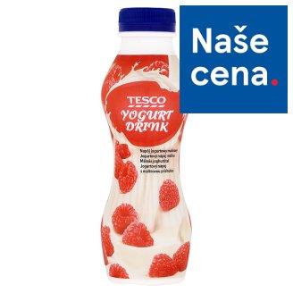 Tesco Jogurtový nápoj malina 350g