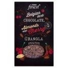 Tesco Finest Zapékané müsli s belgickou hořkou čokoládou, mandlemi, kakaovými boby a višněmi 500g