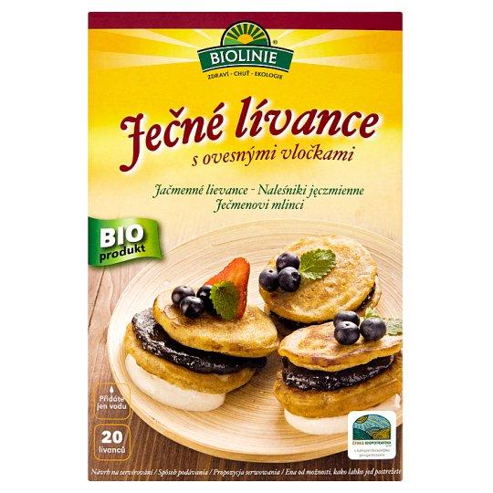 Biolinie Barley Pancakes with Oatmeal Flakes 250g