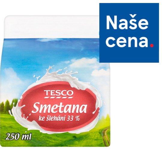 Tesco Whipping Cream 33 % 250ml