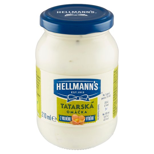 Hellmann's Tartar Sauce 210ml