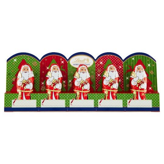 Lindt Mini Santa 5 x 10g