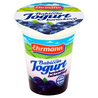 Ehrmann Babiččin jogurt borůvkový 150g