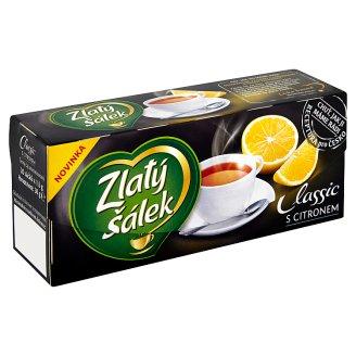 Zlatý Šálek Classic černý čaj s citronem 20 x 1,5g