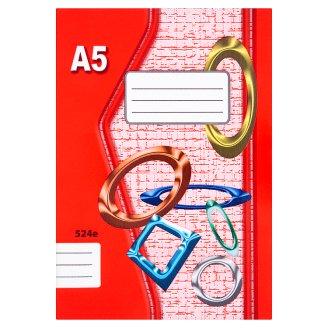 Papírny Brno 524e školní sešit A5 linkovaný 20 listů