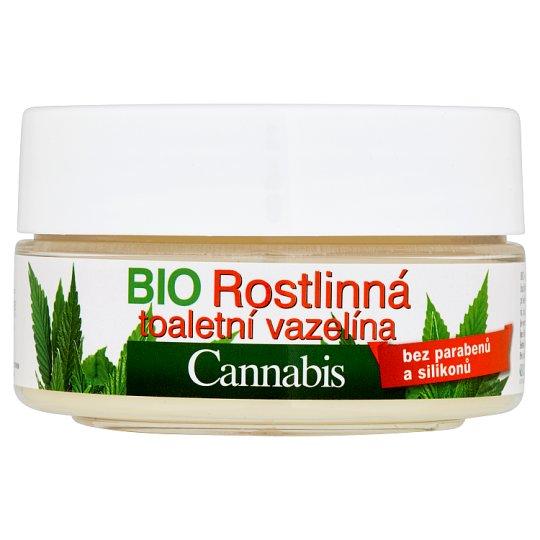 Bione Cosmetics Bio Cannabis bio rostlinná toaletní vazelína 155ml