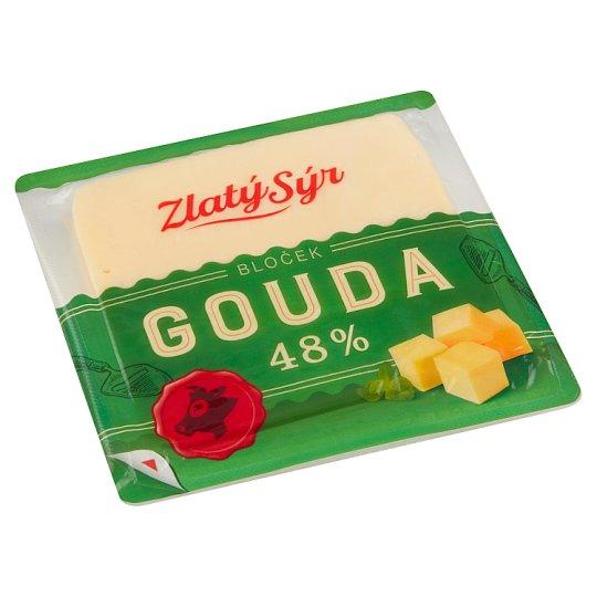 Zlatý Sýr Gouda 48% bloček 250g