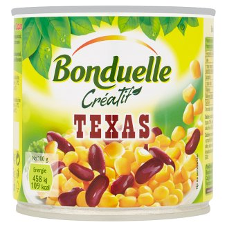 Bonduelle Créatif Texas Vegetable Mix in Slightly Salted Pickle 340g