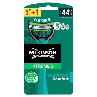 Wilkinson Sword Xtreme3 Sensitive jednorázový holicí strojek se 3 břity 4 ks