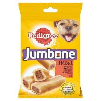 Pedigree Jumbone Mini doplňkové krmivo pro dospělé psy s hovězím 180g