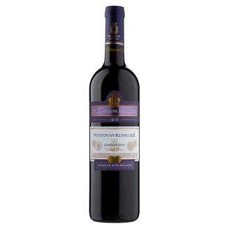 Zámecké Vinařství Bzenec Cellarium Bisencii Svatovavřinecké červené víno suché 0,75l