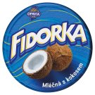 Opavia Fidorka Wafer with Coconut Filling Dipped in Milk Chocolate 30g