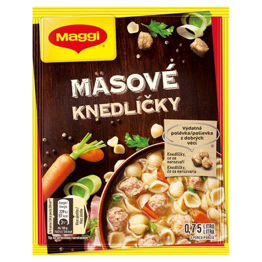 MAGGI Soup Knedlíčky Meat 49g
