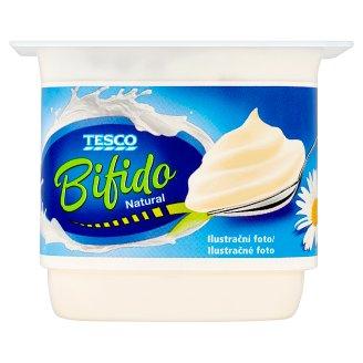 Tesco Bifido Natural White Yogurt with Bifidus Cultures 130g