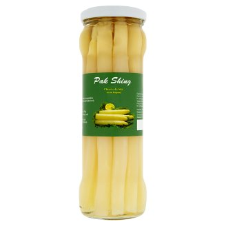 Pak Shing Whole White Asparagus Hand-Peeled 330g
