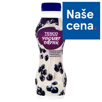 Tesco Black Currant Yogurt Drink 350g
