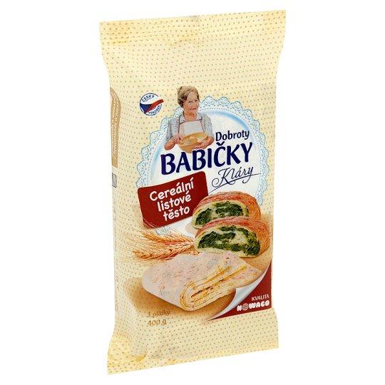 Nowaco Dobroty Babičky Kláry Puff Pastry Cereal 400g