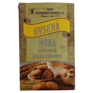 Mlyn Pohronský Ruskov Oatmeal Whole Grain Fine Selection 800g