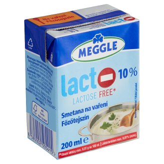 Meggle Lactose Free Cream for Cooking 200ml