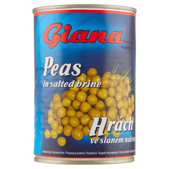 Giana Peas in Salted Brine 400g