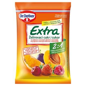 Dr. Oetker Extra želírovací cukr 2:1 na přípravu ovocných džemů a marmelád 500g