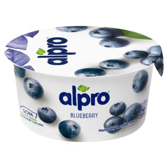 Alpro Fermented Soy Product Blueberry 150g