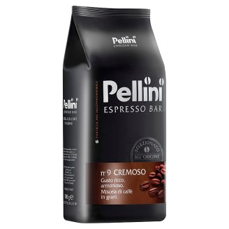 Pellini N.9 Cremoso Roasted Blend of Coffe Beans 1kg
