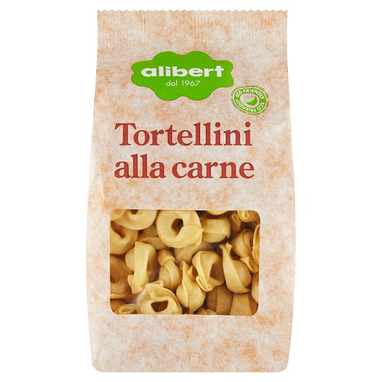 Alibert Tortellini Filled with Meat 250g