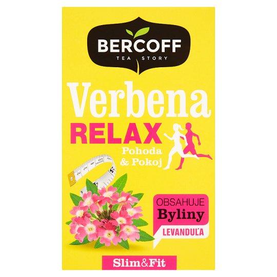Bercoff Bylinný čaj verbena citronová s levandulí 20 x 1,75g