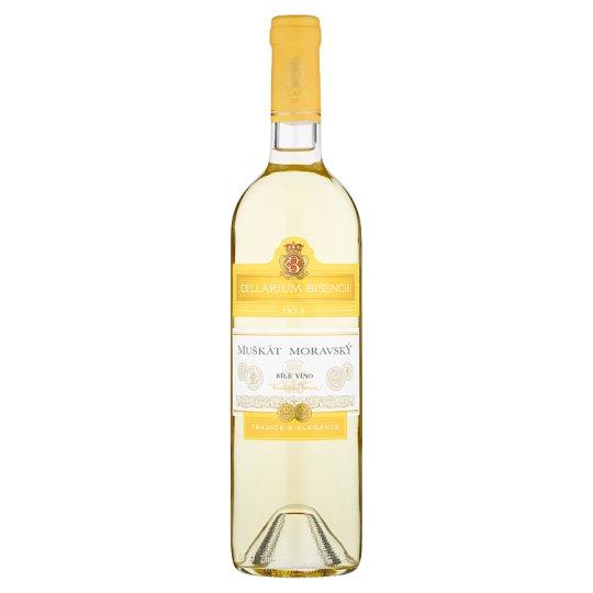Zámecké Vinařství Bzenec Cellarium Bisencii Muškát moravský víno bílé suché 0,75l