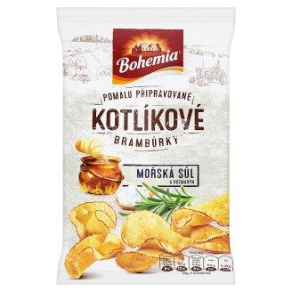 Bohemia Kotlíkové brambůrky mořská sůl a rozmarýn 50g