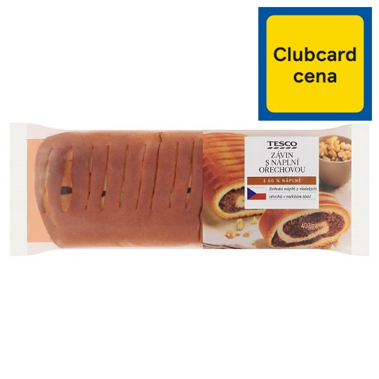 Tesco Strudel with Walnut Filling 400g