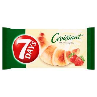 7 Days Croissant s jahodovou náplní 60g